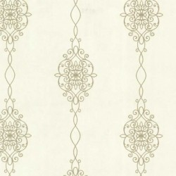 Alvina Ironwork Stripe Cream