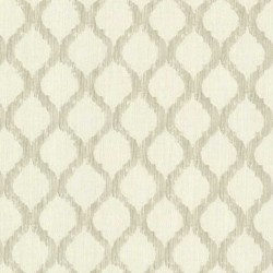 Jasper Fretwork Trellis Off White and Cream
