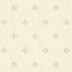 Chadwick Fleur de Lis Tan