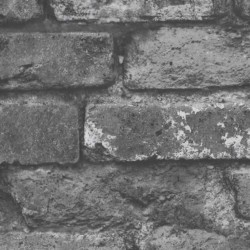 Loft Brickwork Black and White
