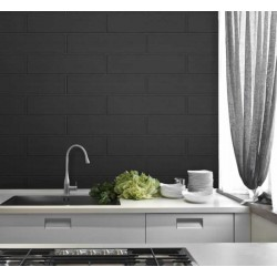 Stria Tile Black