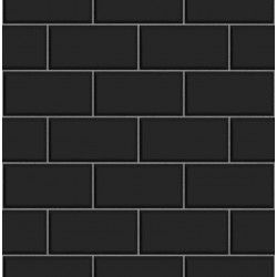 Subway Tile Black