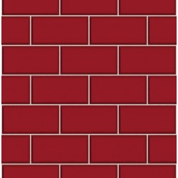 Subway Tile Red