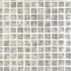 Mosaic Tile Sidewall Silver