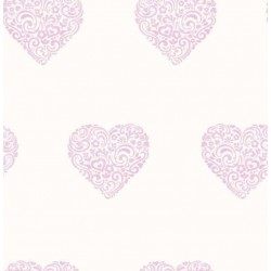 Hearts Sidewall Purple