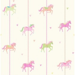 Carousel Sidewall Pink Multi
