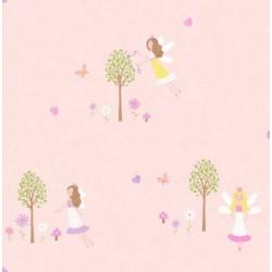 Fairy Garden Sidewall Pink