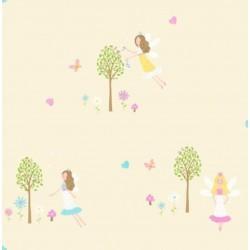 Fairy Garden Sidewall Yellow