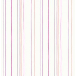 Mini Stripe Pink and Purple