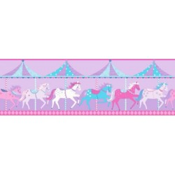Carousel Border Purple