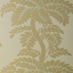 Wisteria Gold Champagne Wallpaper