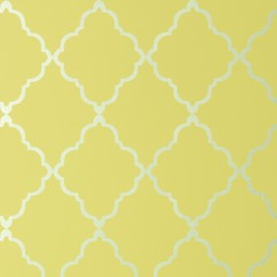 Klein Trellis Citron Yellow