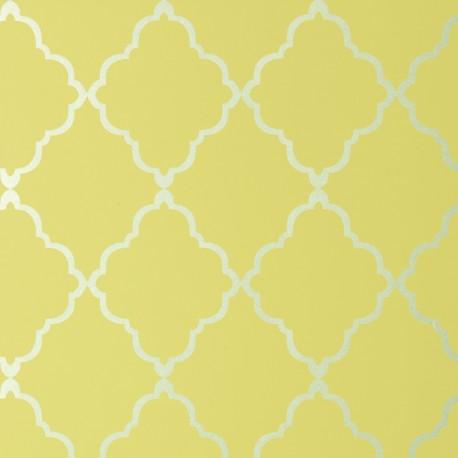 Klein Trellis Citron Yellow