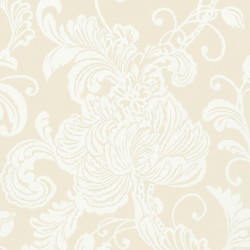 Verey Floral Damask Neutral Cream