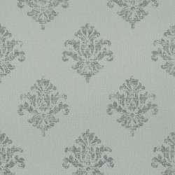 Yala Green and Grey Damask
