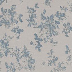 Hakgala Floral Pale Blue and Cream