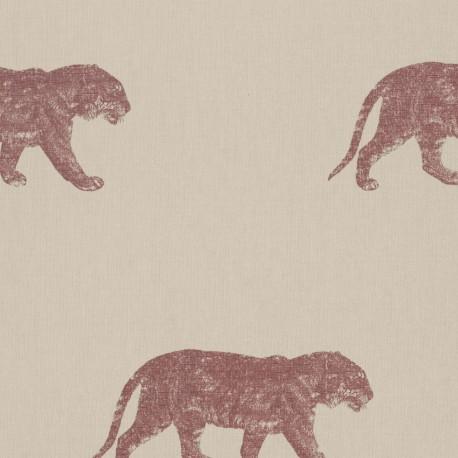 Bundala Tiger Red and Beige