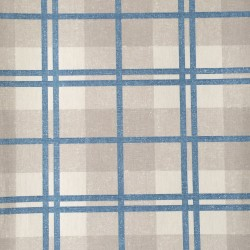 McGregor Tartan Pale Blue and Cream