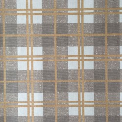 McGregor Tartan Linen Beige and Brown