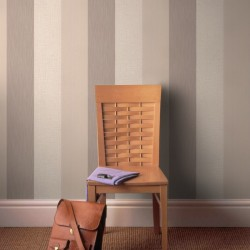 Java Beige and Cream Stripe Wallpaper