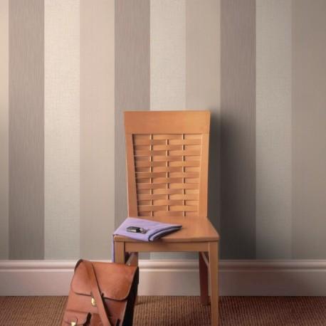 Java Beige and Cream Stripe Wallpaper