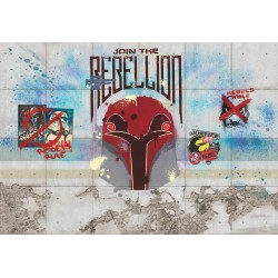 Rebels Wall Mural