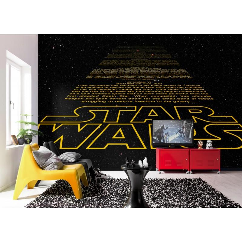 Star Wars Credits Intro Wall Mural