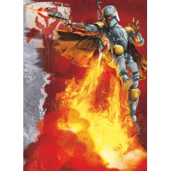 Star Wars Boba Fett Wall Mural