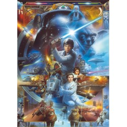 Star Wars Luke SkyWalker Wall Mural
