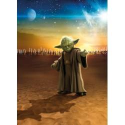 Star Wars Master Yoda Wall Mural