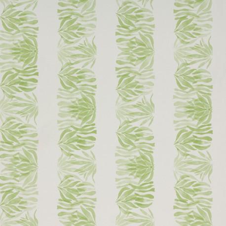 Wild Stripes Fresh Green Wallpaper