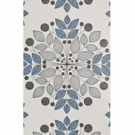 Kaleidoscope Blue Wallpaper