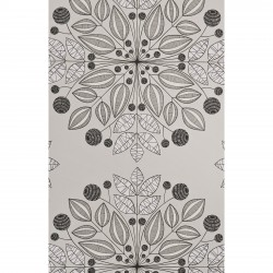 Kaleidoscope Merino Grey Wallpaper
