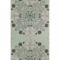 Kaleidoscope Peppermint Green Wallpaper
