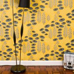 Desert Sunbeam Yellow Wallpaper