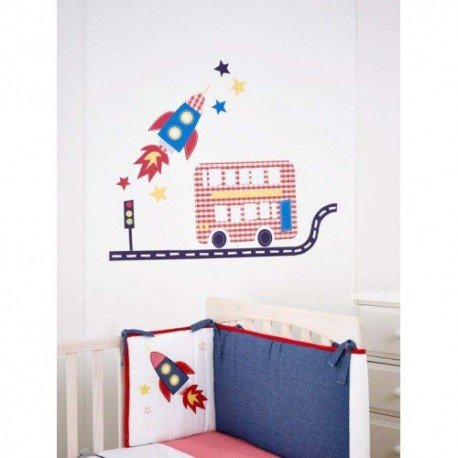 Fetch The Train Engine Wall Stickers