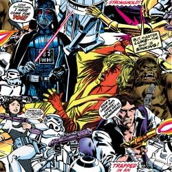 Star Wars Film Cartoon Wallpaper