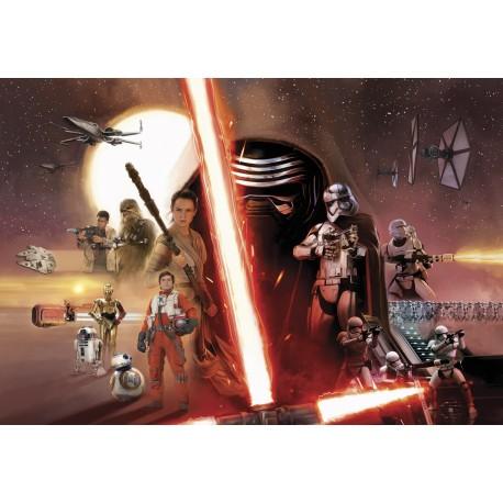 Star Wars Character Wall Mural