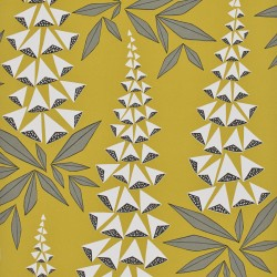 Foxglove Quince Yellow Wallpaper
