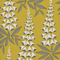 Foxglove Quince Yellow Wallpaper