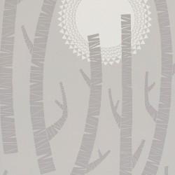 Woods Haze Light Grey Wallpaper