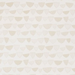 Allsorts Goldrush Pale Gold Wallpaper