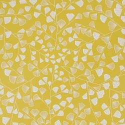 Fern Citrus Yellow Wallpaper