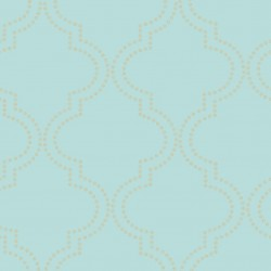Tetra Duck Egg Blue and Gold Foil Spots