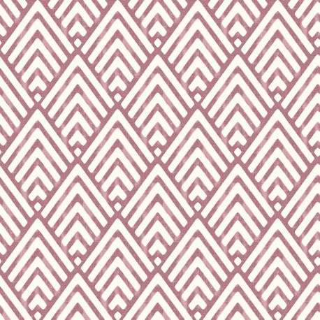 Vertex White And Ruby Red Wallpaper