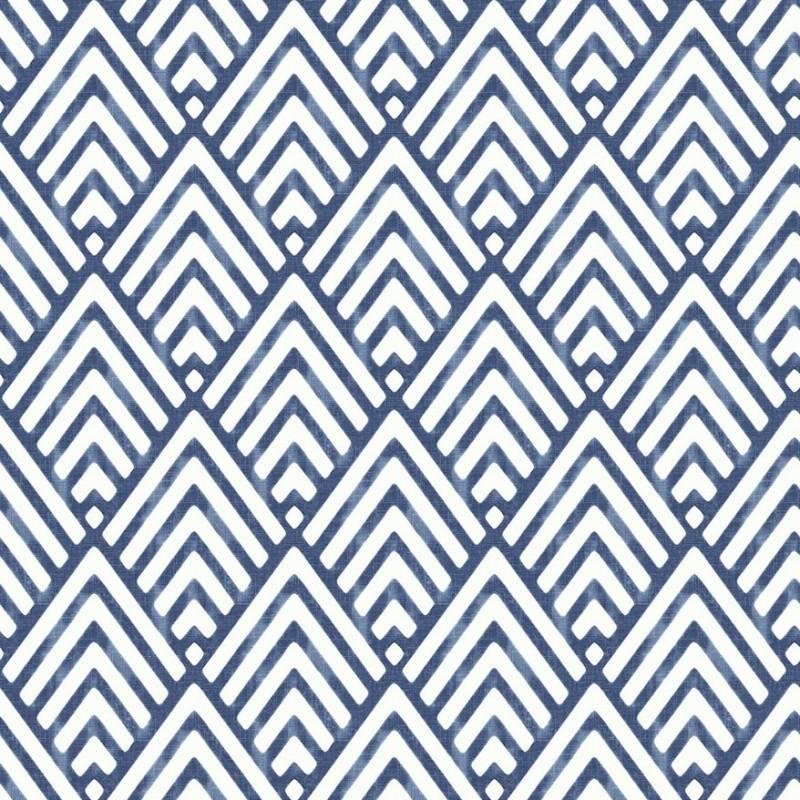 Navy Blue White And Gray Bedroom: Buy Vertex White Navy Blue 2625-21828 Wallpaper Direct UK