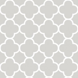 Origin Grey and White Trellis Wallpaper