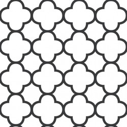 Origin Black and White Trellis Wallpaper