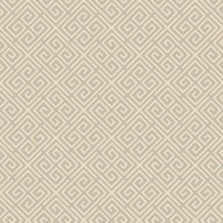 Omega Taupe and Cream Wallpaper