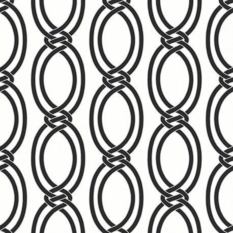 Infinity Black and White Wallpaper